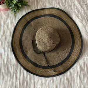 Jessica Simpson Wide Brim Floppy Sun Hat